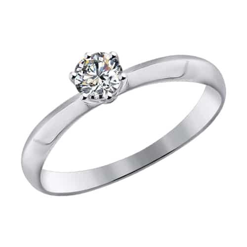 Кольцо c бриллиантом 4.04 Ct