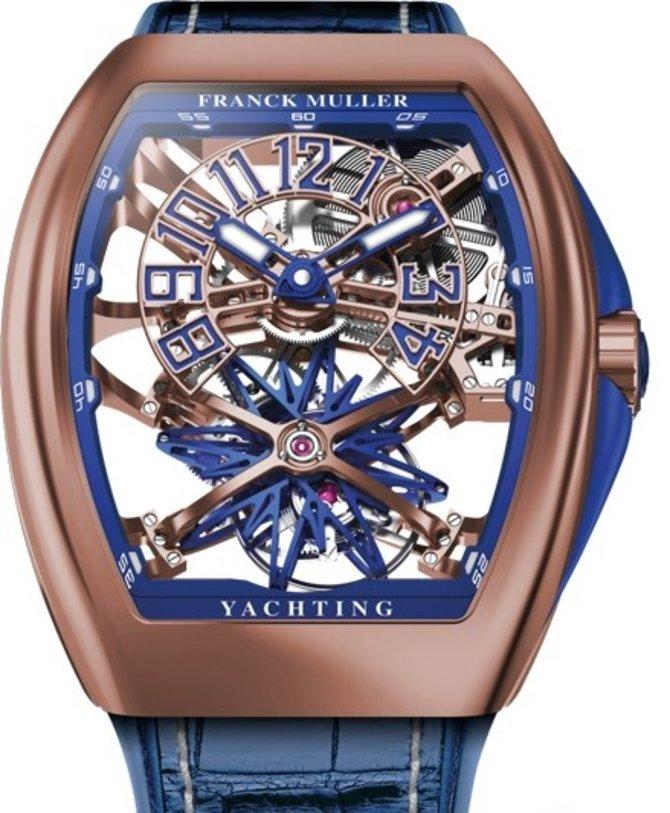 Franck Muller Vanguard Gravity Yachting Skeleton