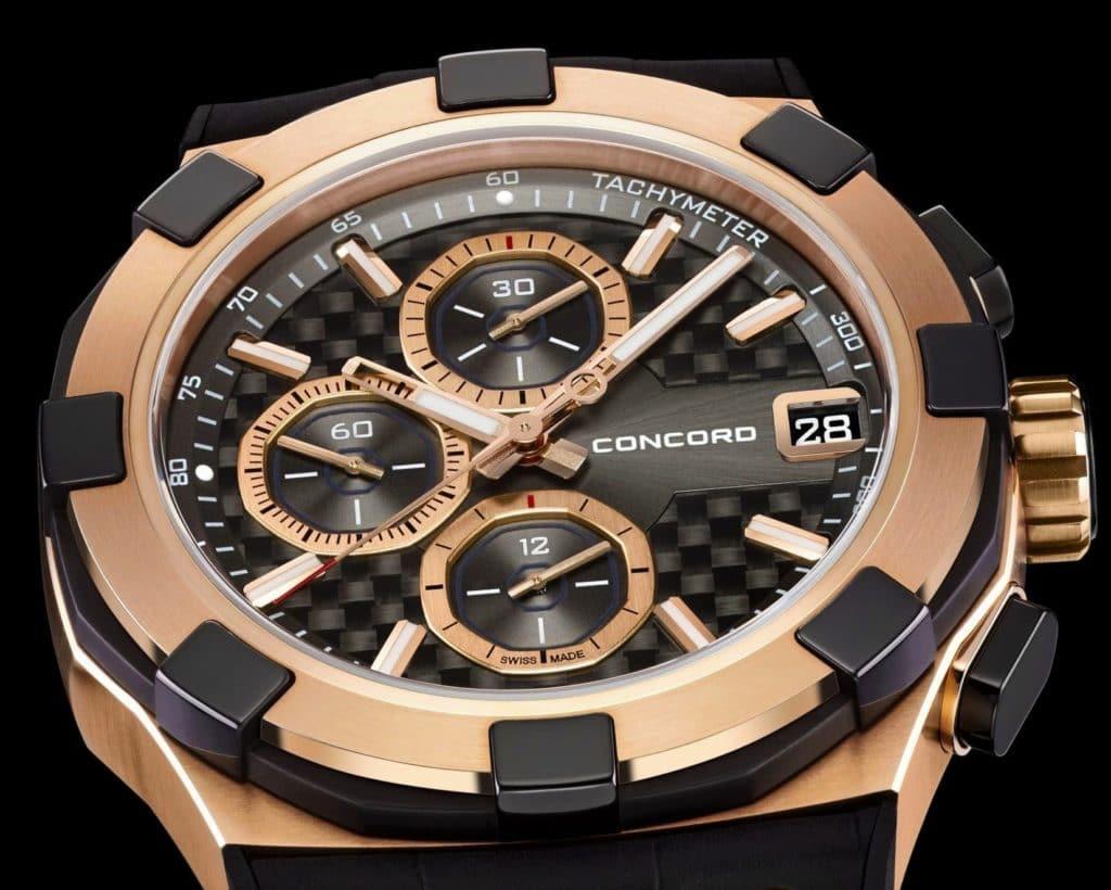 Часы Concord: продать оригинальный хронометр от швейцарского бренда