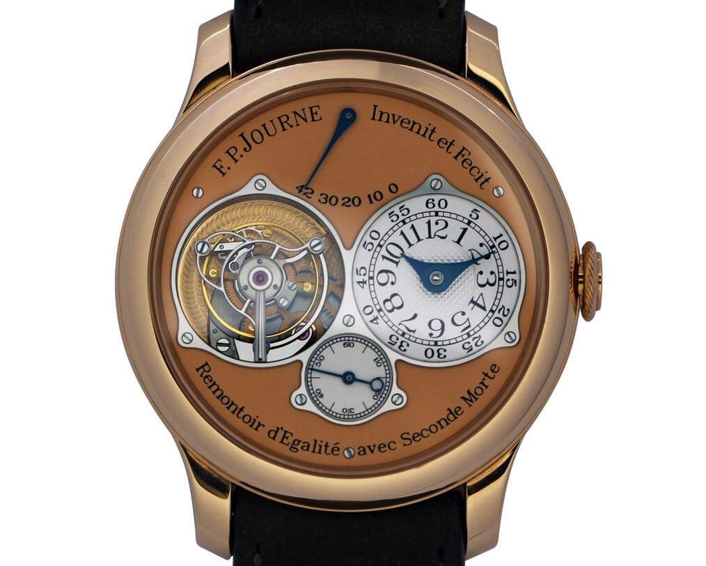 Часы F.P. Journe: продать, следуя правилам