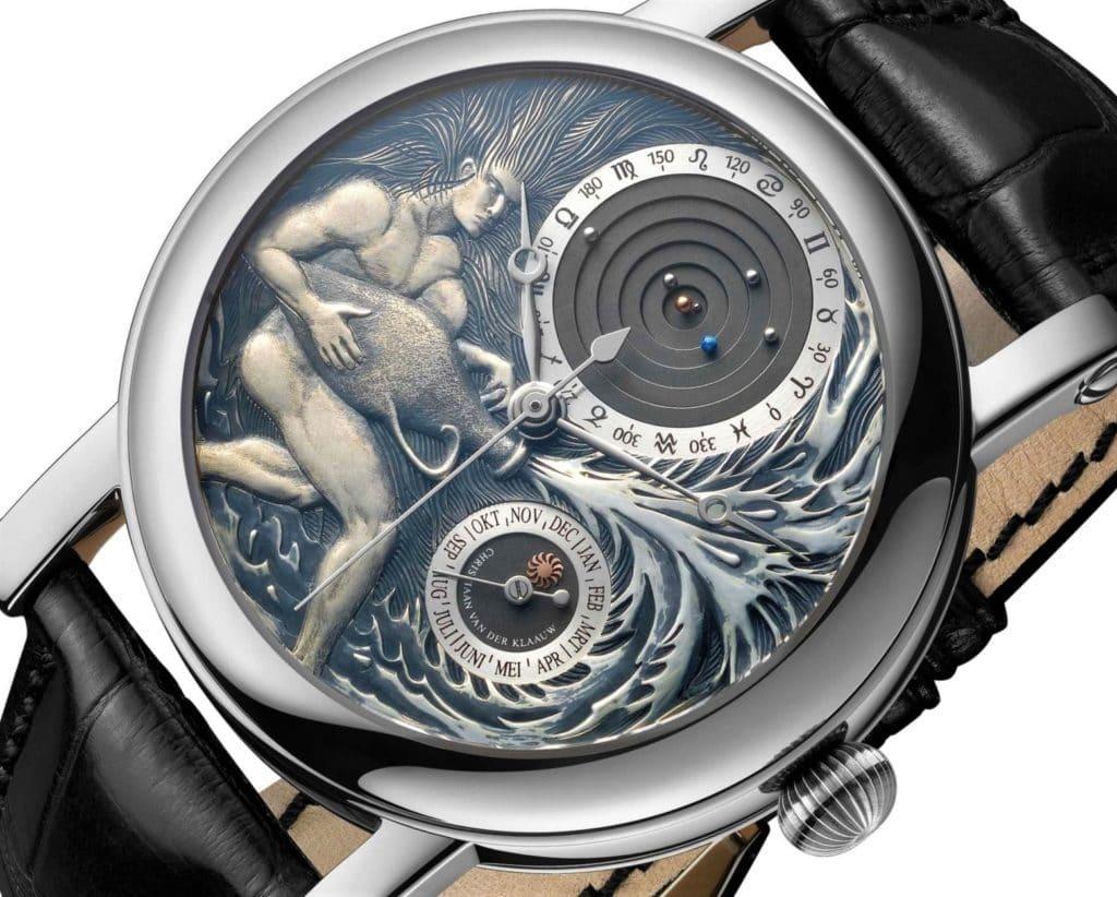 Часы Christiaan Van Der Klaauw: продать эксклюзивный астрономический хронометр