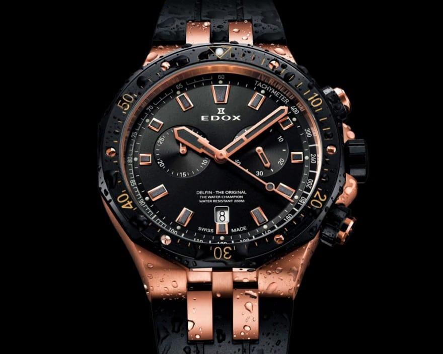 Часы Edox: продать хронометр medium-luxury