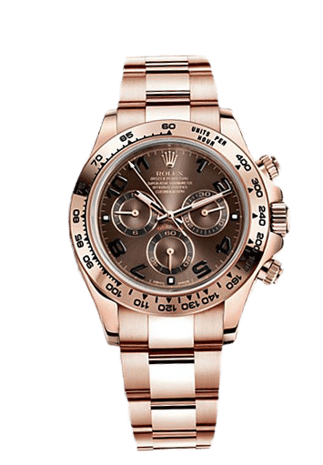 Rolex 116505 Cosmograph Daytona Everose Gold Chocolate Dial