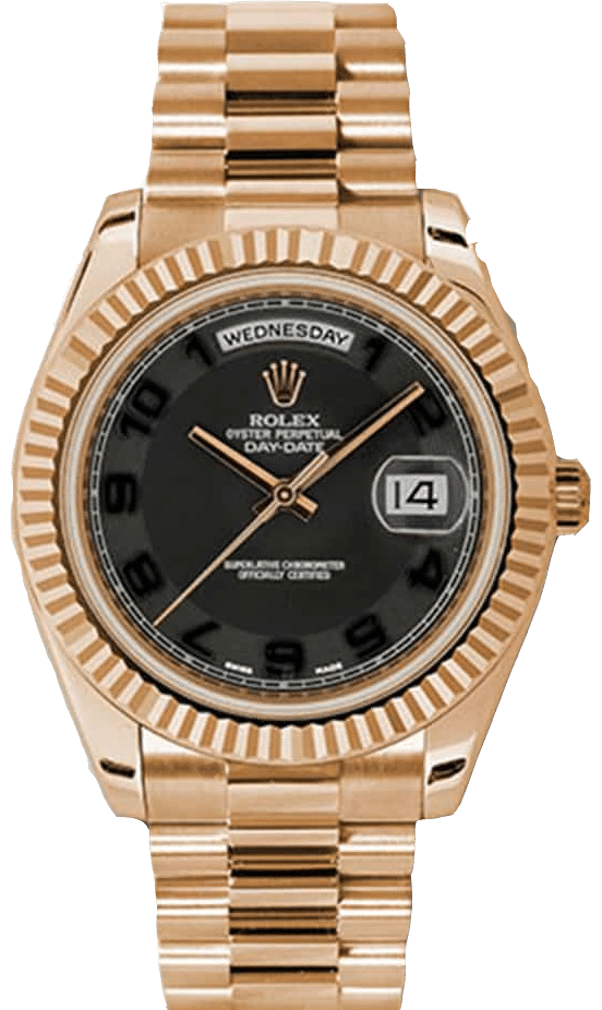 Rolex 218235 Day-Date 41 mm Chocolate Dial
