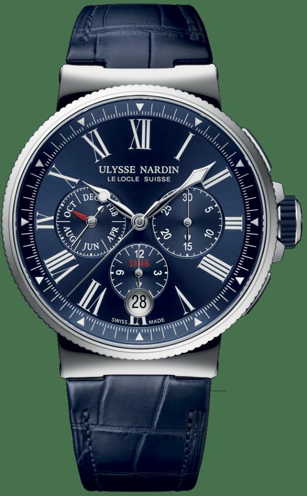 Ulysse Nardin 1533-150/43 Marine Chronograph 43 mm