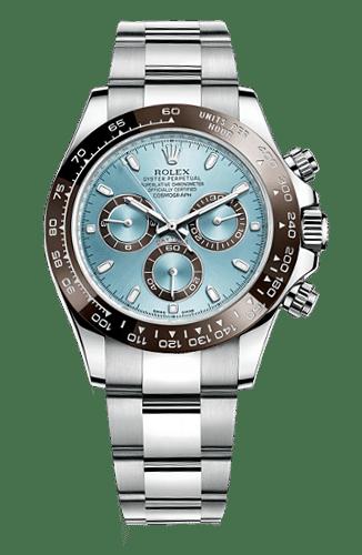 Rolex 116506 Cosmograph Daytona Platinum Ice Blue Dial