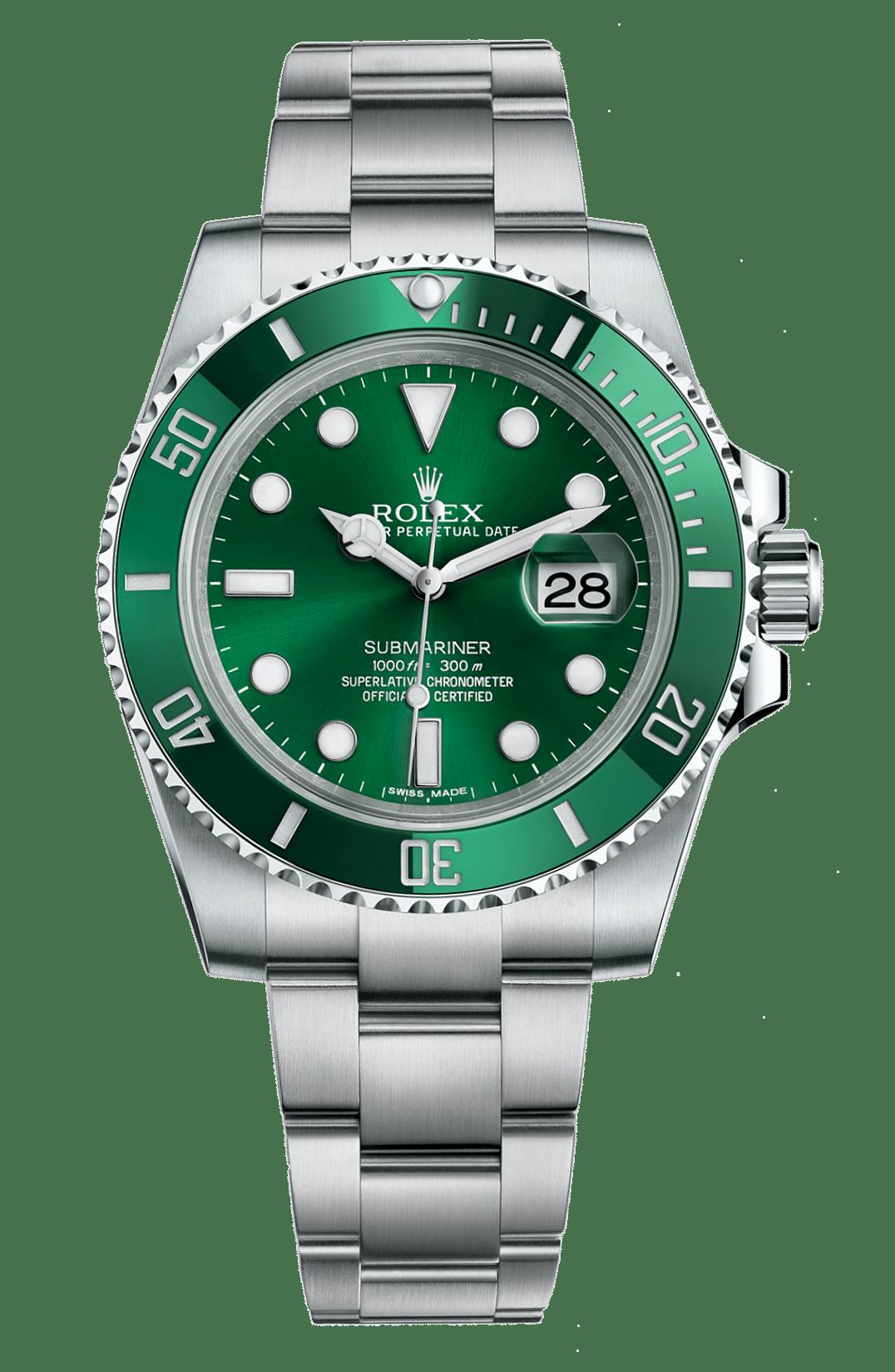 Rolex 116610LV Hulk Submariner Date 40 mm