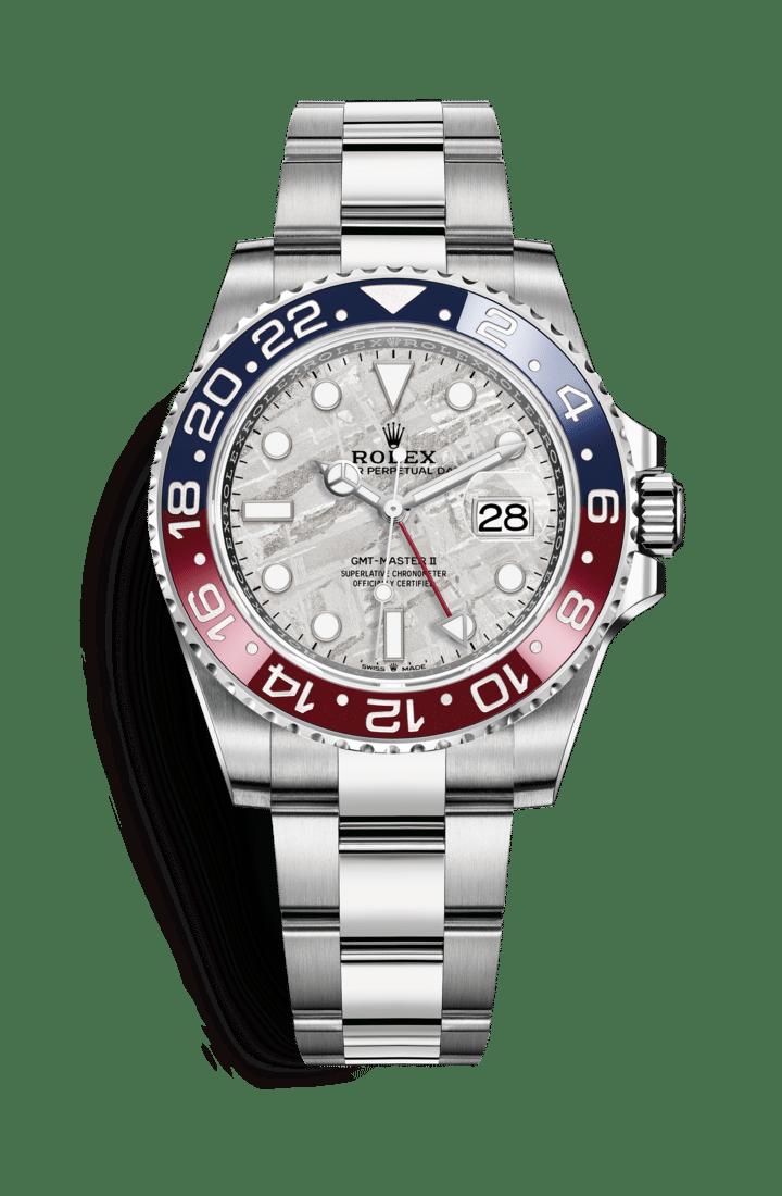 Rolex 126719BLRO GMT-Master II Meteorite Dial