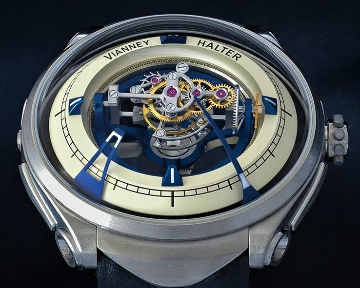 Часы Vianney Halter: продать аксессуары от независимого часовщика