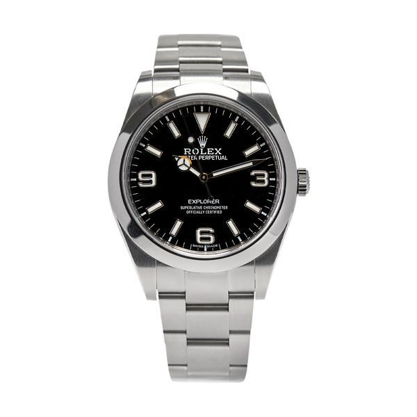 Rolex 214270 Explorer Black Dial 39 mm