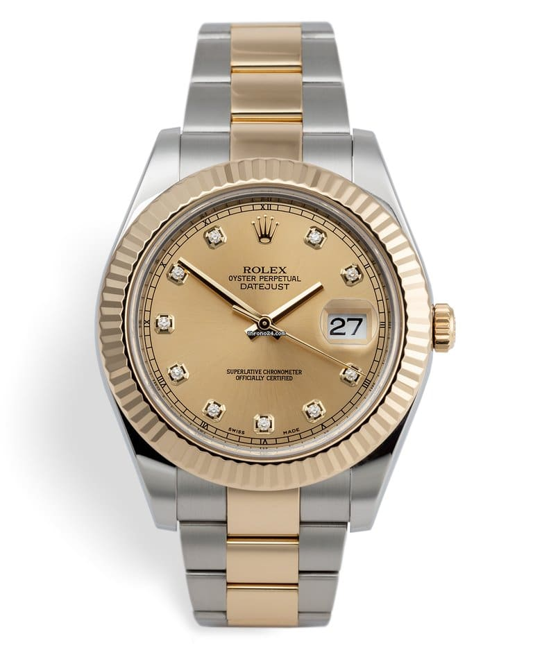 Rolex 126333 Datejust Steel and Yellow Gold 41 mm