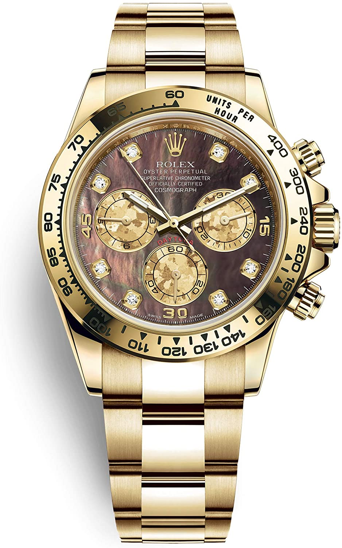 Rolex 116528 Cosmograph Daytona Yellow Gold 40 mm